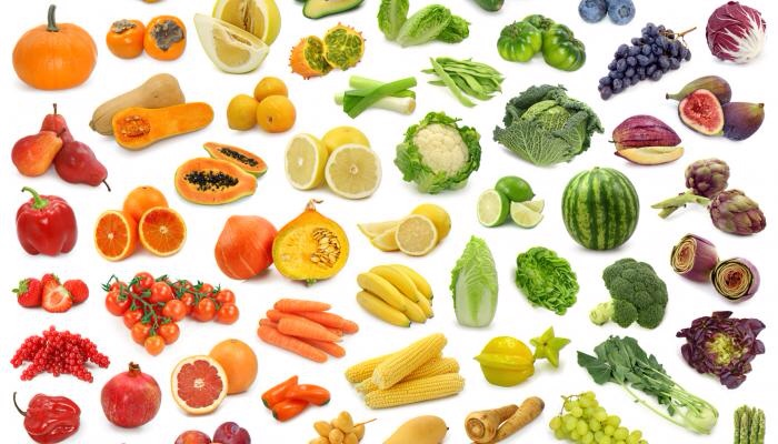 Foods of all colours