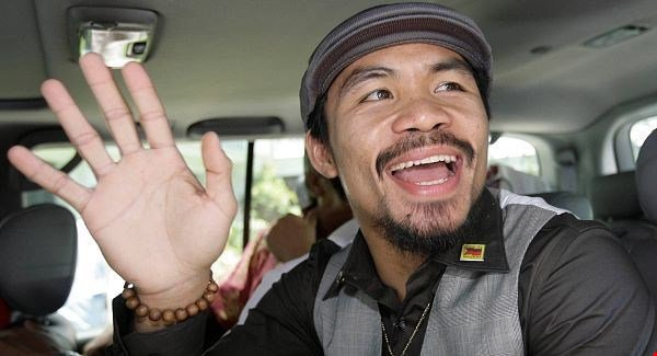 Manny Pacquiao runs for president