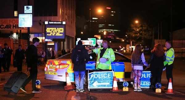 Manchester Attack aftermath