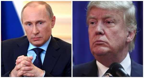 Donald Trump is thanked by Putin for aiding in anti-terrorist decision