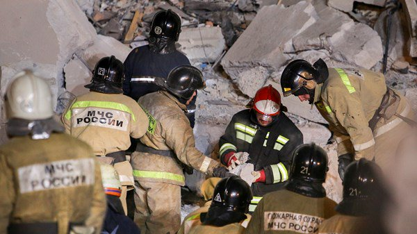 Russia, Europe, Building Collapse