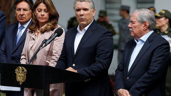 Colombia, Car Bombing, President Ivan Duque