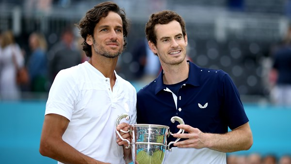 Andy Murray doubles championship