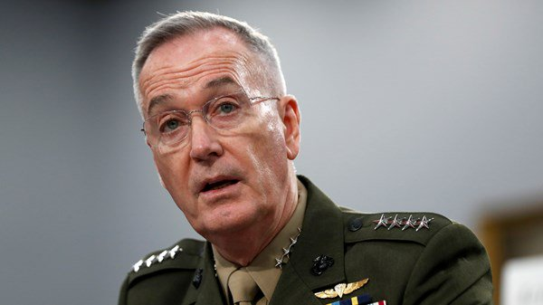 US Joint Chiefs of Staff poor relations with Iran