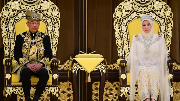Malaysia's king pleads for racial unity.