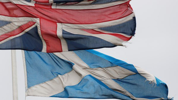 Scottish Referendum becoming more likely as poll finds more than half Scots want out.
