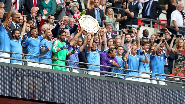 Pep Guardiola expects pressure for Manchester City to win Premier League this season.