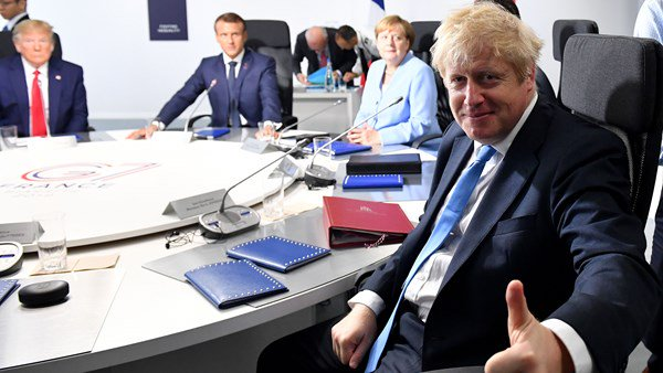 Brussels warns Boris Johnson about Brexit bill that is £39bn.