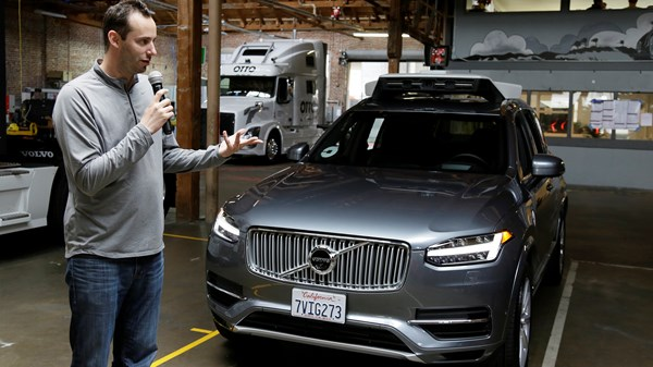 Anthony Levandowski of Google is charged with theft