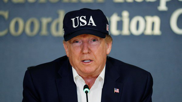 Donald Trump approves emergency orders over Hurricane Dorian