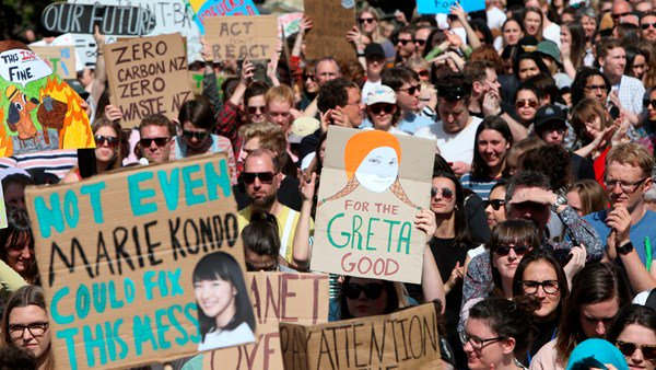 Greta Thunberg announces more protests on climate change