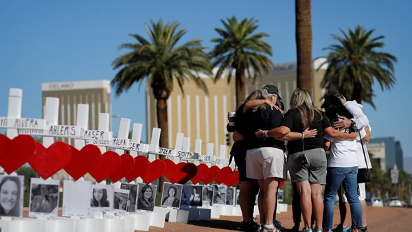 Second Anniversary of the shooting in Las Vegas