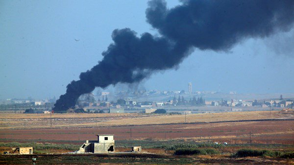 Turkey has launched air strikes in Syria