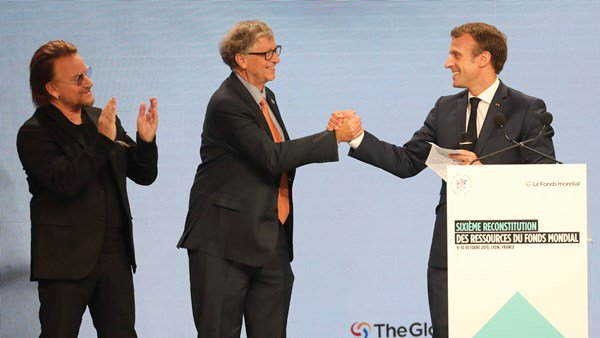 Emmanuel Macron speak with cofounders for right on terminal diseases