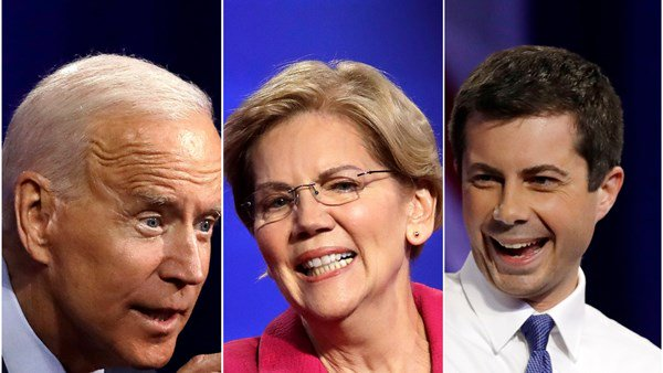 Democratic candidates try to win over the LGBT community in debate