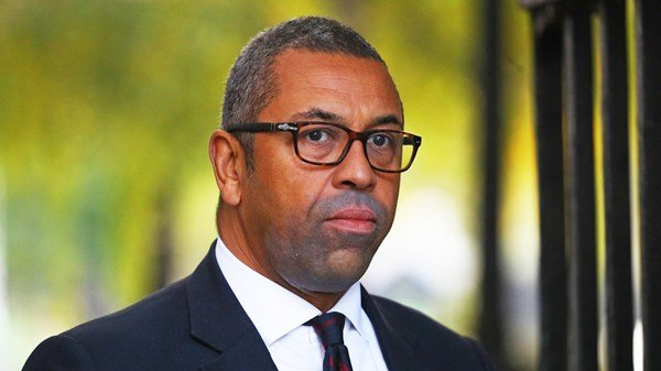 James Cleverly gets cold treatment over