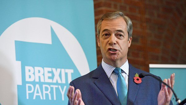 Nigel Farage rules out going for election