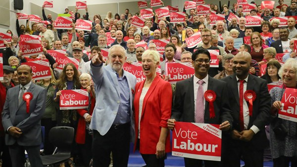 Labour make a push for Jeremy Corbyn for General Election