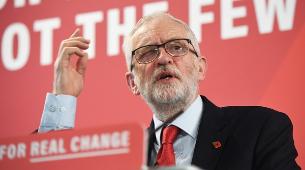 Jeremy Corbyn pledges he will end the need for food banks