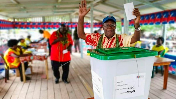 Pacific islands vote for independence from Papua New Guinea