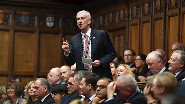 Lindsay Hoyle voted as new House of Commons speaker