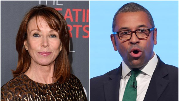 James Cleverly refuses to show up to Kay Burley show on Sky News.