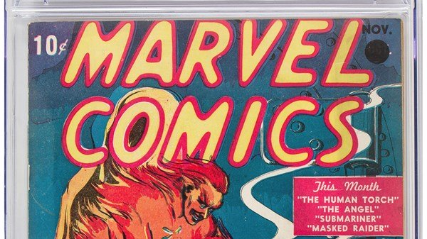 1st Marvel comic book issue sells for over $1m