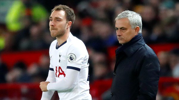 Christian Eriksen and Jose Mourinho had talks that cannot be discussed openly with public