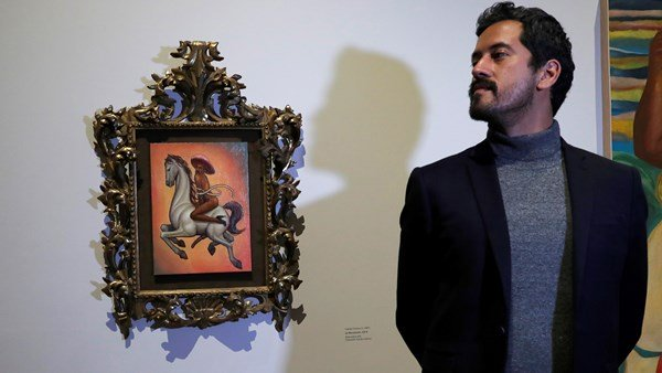 painting by Emiliano Zapata of Mexican hero causes stir