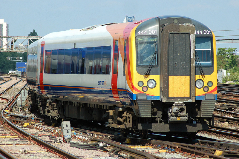 Clapham Junction, Southwest Trains; travelling for Christmas holidays