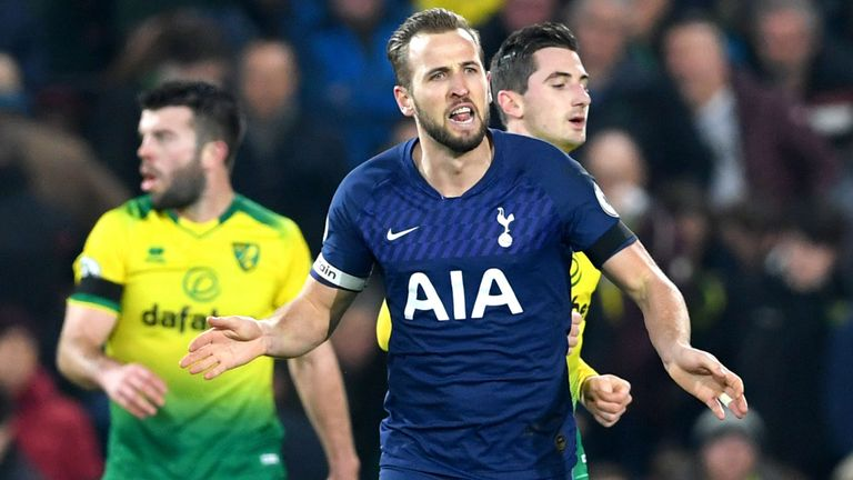 Harry Kane scores last goal to tie Norwich and secure 1 point