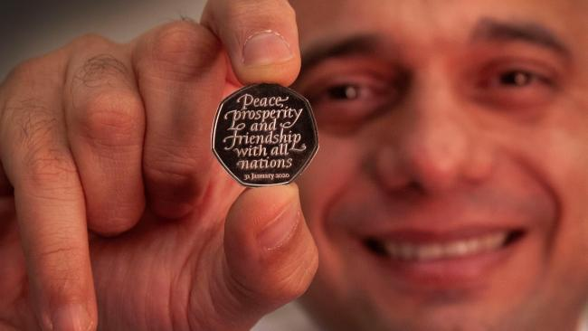 50 pence coin revealed by sajid javid