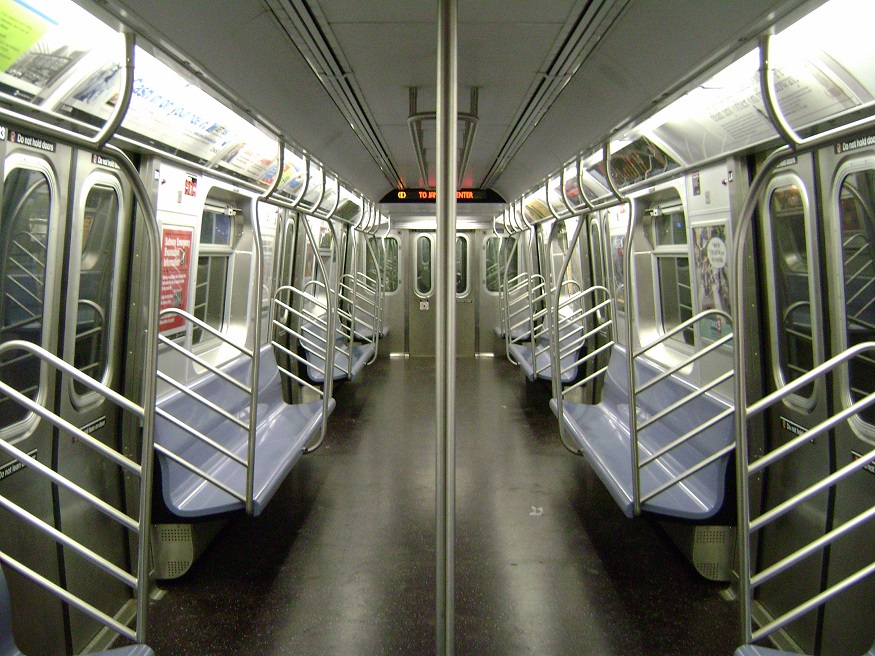 New York Subway, Fires, Empty subway, coronavirus, virus pandemic