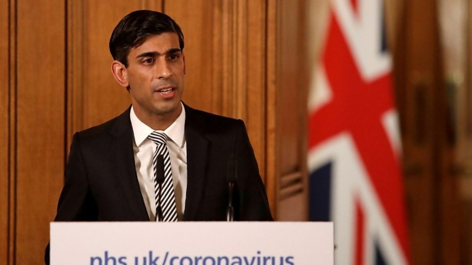 Rishi Sunak, Chancellor, says Boris Johnson is recovering well