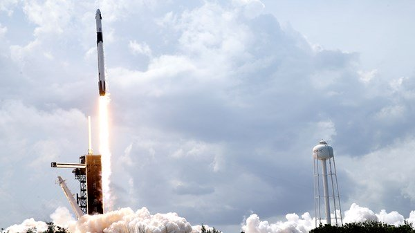 SpaceX takes astronauts successfully into space