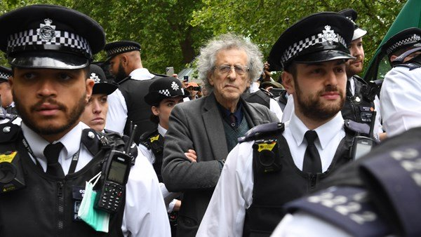Piers Corbyn was arrested for inciting the protest in Hyde Park over lockdown Andy coronavirus