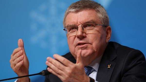 Thomas Bach from the Olympics committee