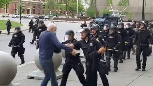 New York police officers charged