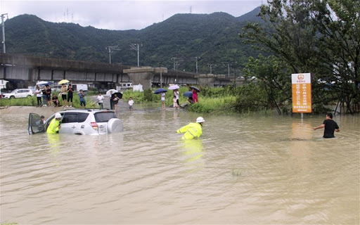 Flooding in China;