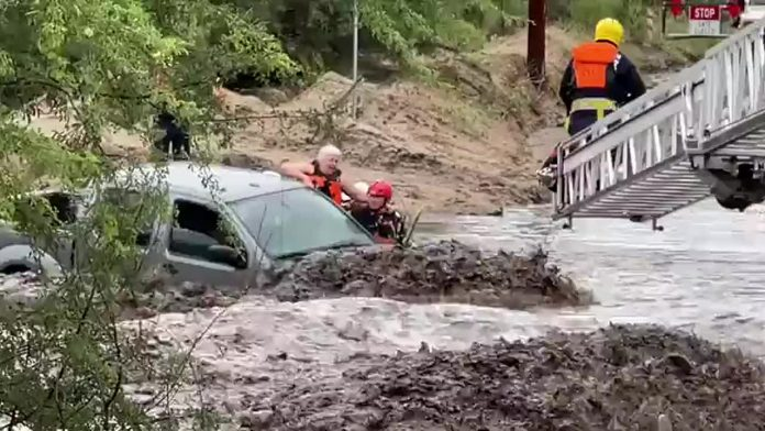 Tennessee flooding over storm
